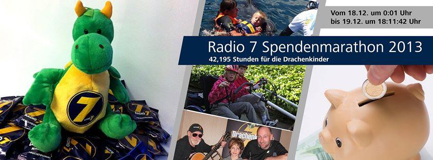 Bodensee-Hochzeiten.com unterstützt den Radio 7 Spendenmarathon für die Drachenkinder