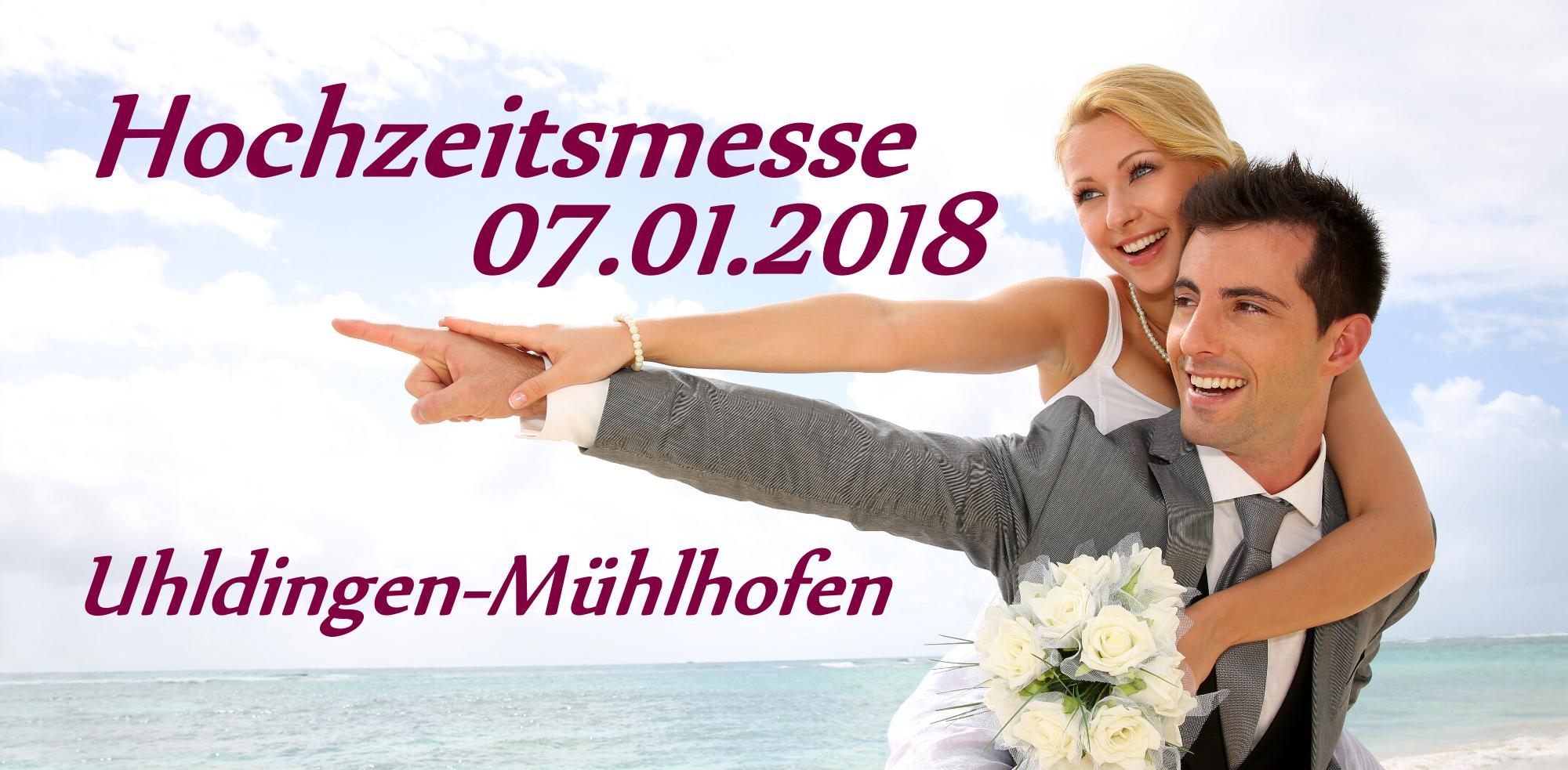 Messestand auf der Hochzeitsmesse Uhldingen-Mühlhofen am 7.1.2018