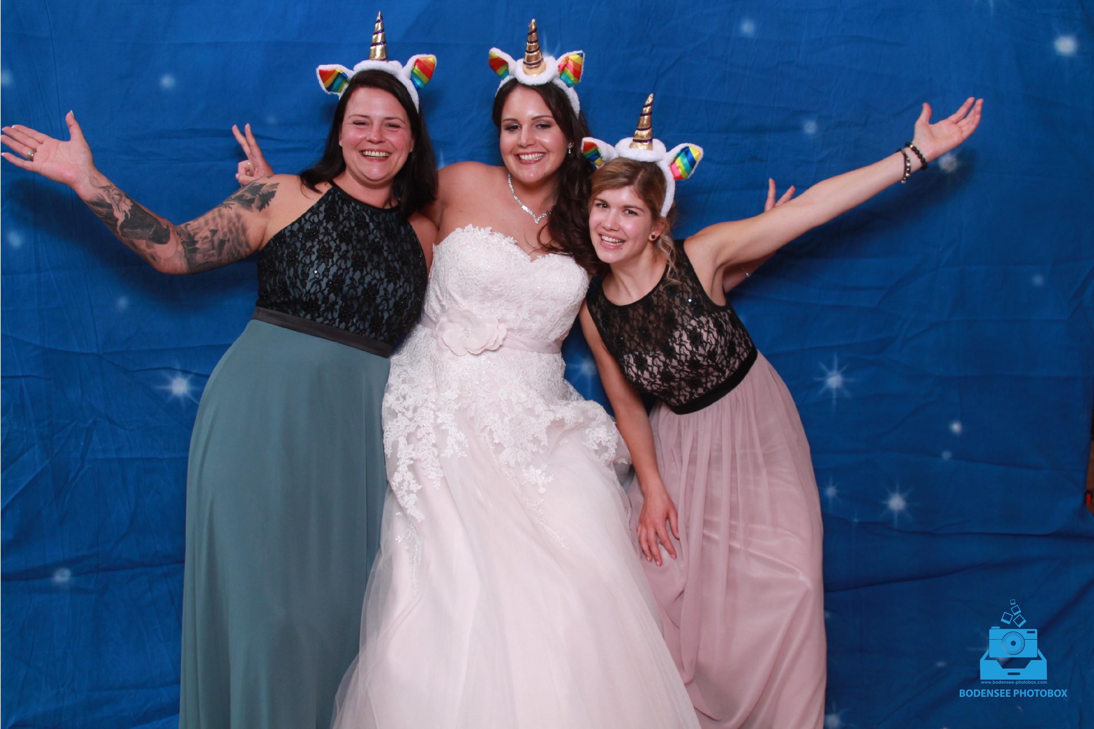 Fotobox von BODENSEEPHOTOBOX – Der Spassgigant auf jeder Hochzeit