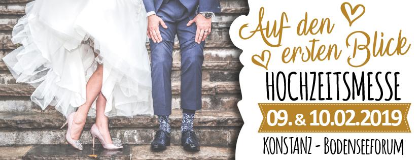 Bodensee-Hochzeiten.com auf der ersten Hochzeitsmesse in Konstanz am 9. und 10. Februar 2019